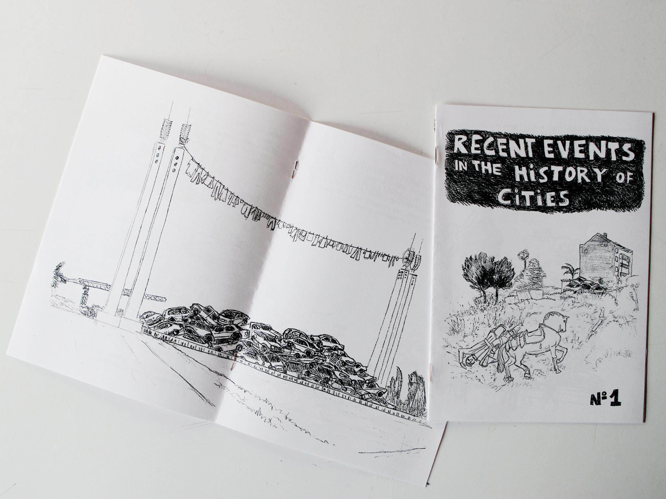 recent events zine