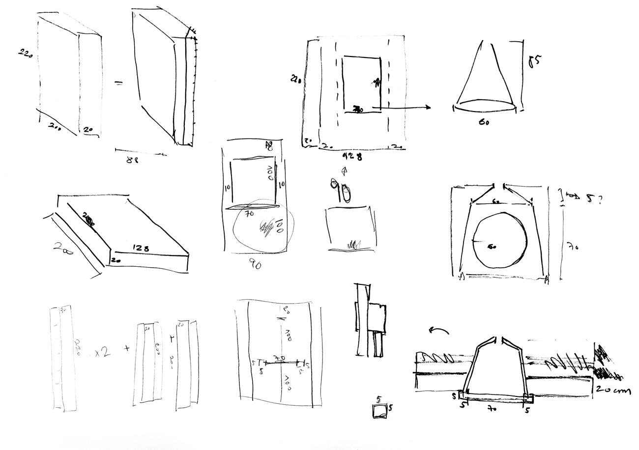 study for installation walls